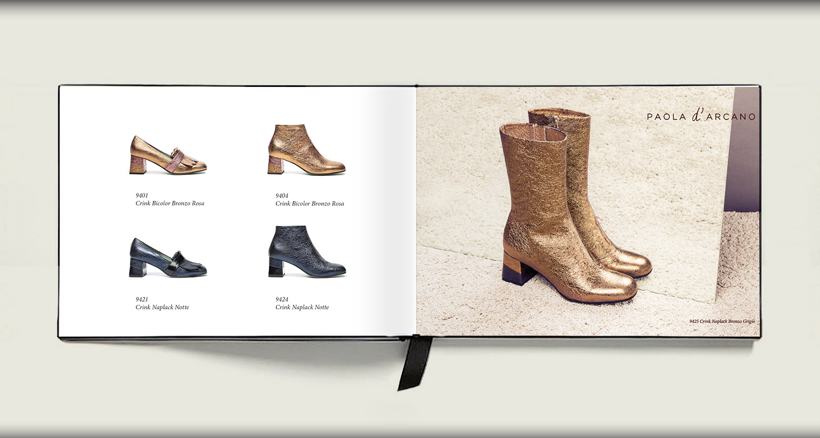 Advertising Paola D'Arcano Shoes Made in Italy - 3