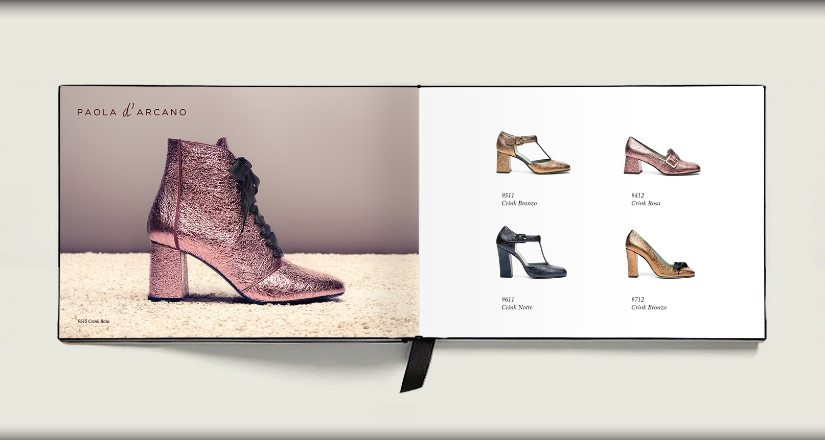 Advertising Paola D'Arcano Shoes Made in Italy - 4