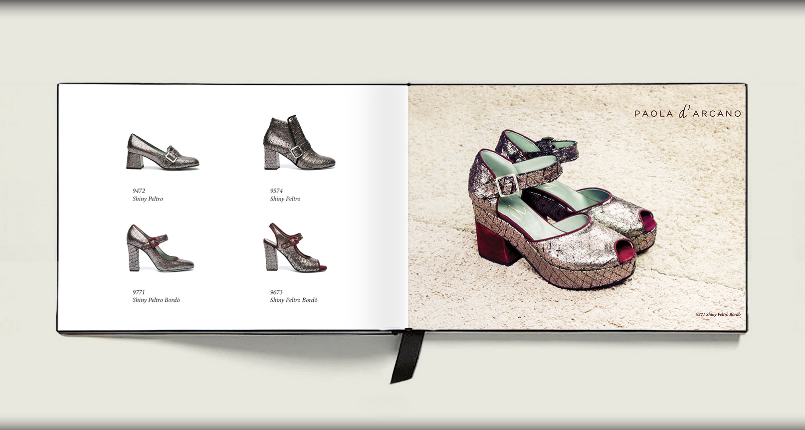 Advertising Paola D'Arcano Shoes Made in Italy - 5