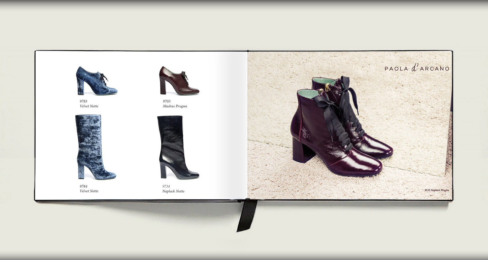 Advertising Paola D'Arcano Shoes Made in Italy - 7