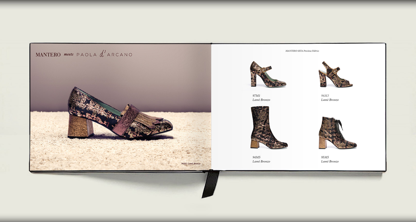 Advertising Paola D'Arcano Shoes Made in Italy - 8